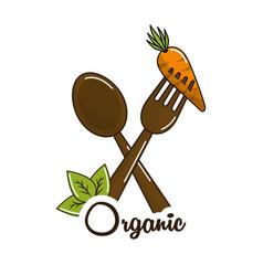 vegan food icon stock vector image