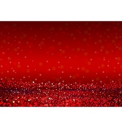 Defocused Abstract Red Lights Background vector image vector image