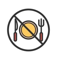 No food vector