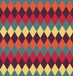 Circus seamless background Contrast dark rhombus vector image vector image