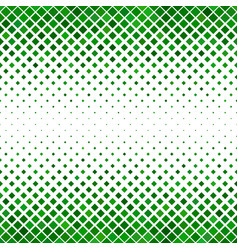 Green diagonal square pattern background vector