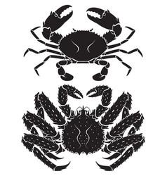 alaskan king crab vector image vector image