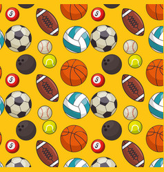 colorful sport background vector image