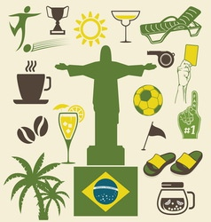 Brazil ikonice vector