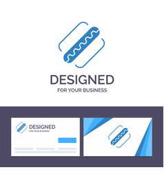 Creative business card and logo template america vector