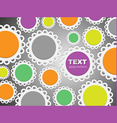Cute bright seamless pattern background bright vector