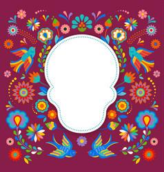 day of the dead dia de los moertos banner with vector image