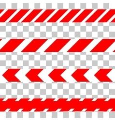 Do not cross line caution tape vector
