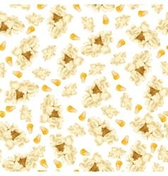 Popcorn seamless pattern vector