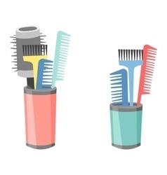 Professional comb barbershop vector image