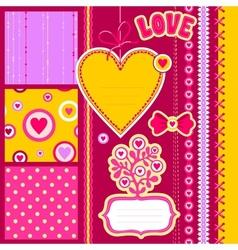 Scrap love vector