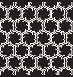 seamless lines mosaic pattern modern stylish vector image
