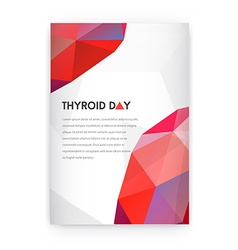 World Thyroid Day Thyroid Solidarity Day vector