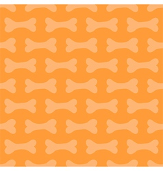 Halloween seamless pattern background with bones vector image vector image