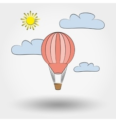 Air balloon vector image vector image
