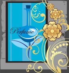 perfume advert vector image