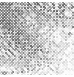 abstract geometric background with gray circles vector image