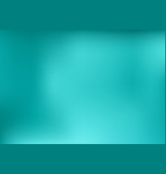blue turquoise blurred abstract background design vector image