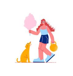 circus artist vector image