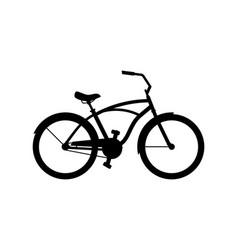 cruiser bike vector image