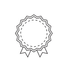 discount badge blank store tag vector image