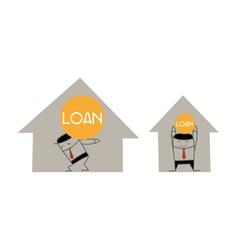 Home loan vector