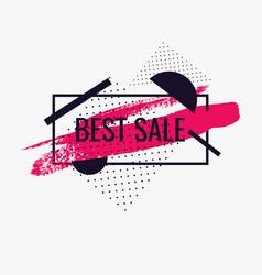 splash ink banner best sale original poster for vector image