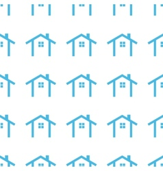 Unique Home seamless pattern vector image