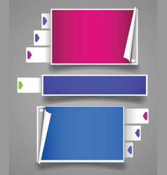 collection framework vector image vector image