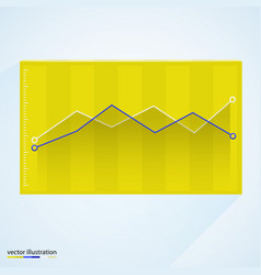 graph in box vector image