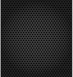 Metallic surface gray dark background vector image vector image