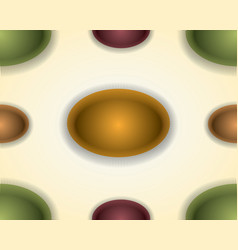 abstract colorful spheres seamless texture vector image vector image