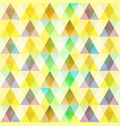 abstract colorful mosaic template vector image