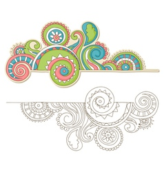 doodle vector image vector image