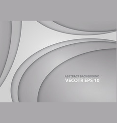 abstract gray curve design modern vector image