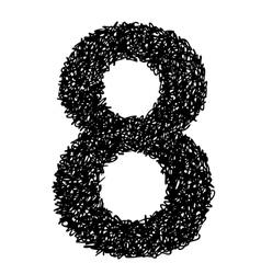 Alphabet 8 vector