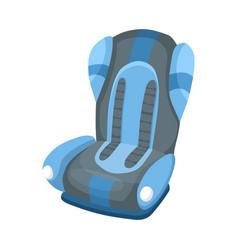 Bacar seat cartoon flat style safety baseat vector