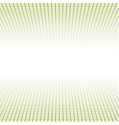 creative perspective grid made tiles vector image