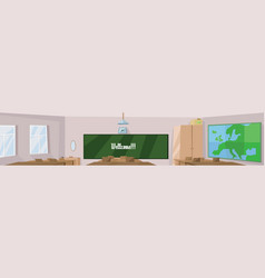 Digital abstract digital classroom vector