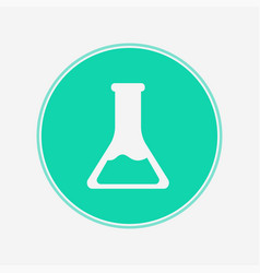 flask icon sign symbol vector image