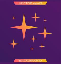 original stars vector image