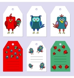 Set gift tags Stock set of children s vector