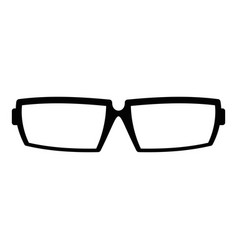 sport eyeglasses icon simple style vector image