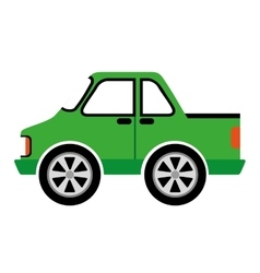 style car isolated icon design vector image