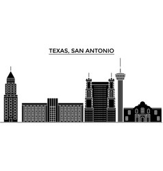 Usa texas san antonio architecture city vector