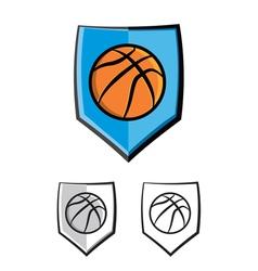 Basketball Icon vector image vector image