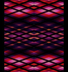 Abstract seamless pink lines pattern vector