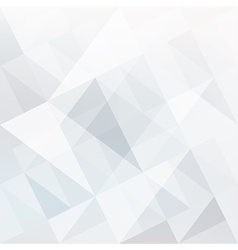 Abstract white triangles vector