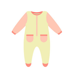 Baby clothes bodysuit poster vector