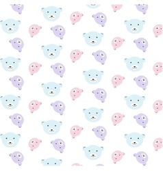 bears pattern set vector image